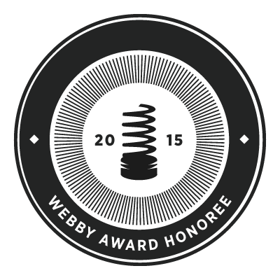 2015 Webby Awards Honoree