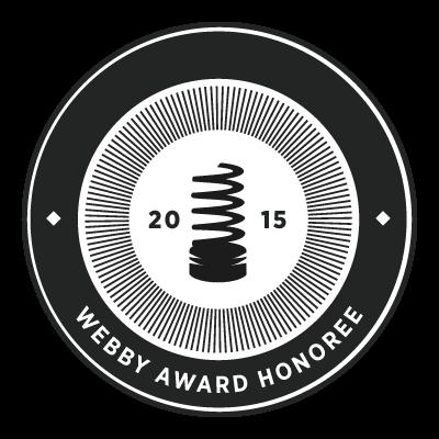 2015 Webby Awards Honoree